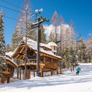 Snow Bear Chalets, The World's First Ski In Ski Out Treehouses!