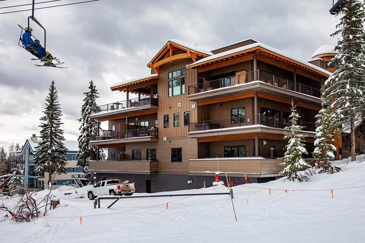 The Chalets At Snow Bear Side Exterior
